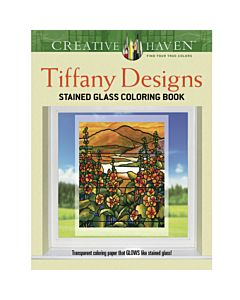 Creative Haven Tiffany Designs Adult Coloring Book