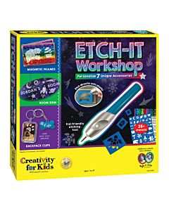 Creativity For Kids - Etch It Workshop