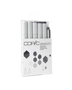 Copic SKETCH 6-Piece SKETCHING GRAYS