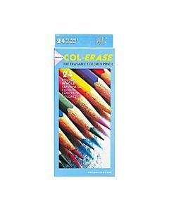 Prismacolor Col-Erase 24 Piece Erasable Pencil Set