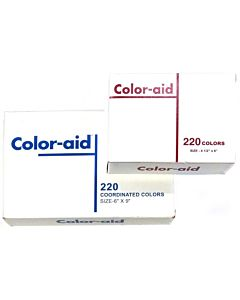 Color-Aid 4.5X6 220 Color Set