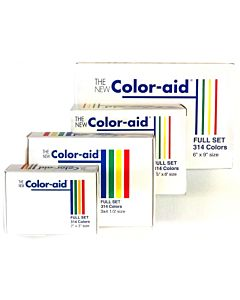 Color-Aid 3X4.5 314 Color Set