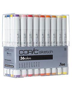 Copic Sketch 36 Color Basic Set
