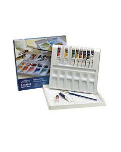 Winsor & Newton Cotman Water Colour Tube Palette Set of 10 8ml Tubes