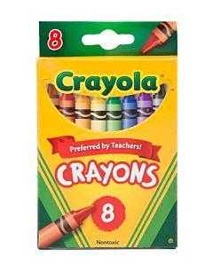 Crayola Crayons 8 Ct