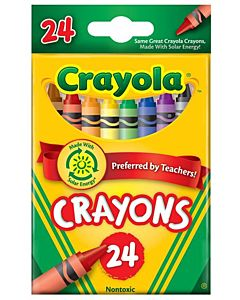 Crayola Crayons 24-Count Assorted