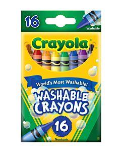 Crayola Washabke Crayons 16-Count