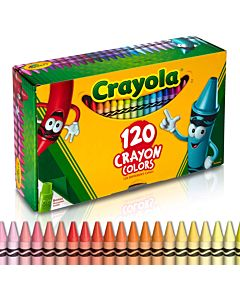 Crayola Giant Chest Crayons 120 Ct.