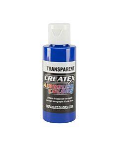 Createx Transparent 4oz Ultramarine Blue 5107