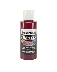 Createx Transparent 4oz Burgundy 5123