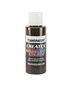 Createx Transparent 4oz Dark Brown 5128