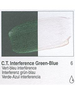 Golden Fluid Acrylic 4oz Bottle - CT Interference Green-Blue