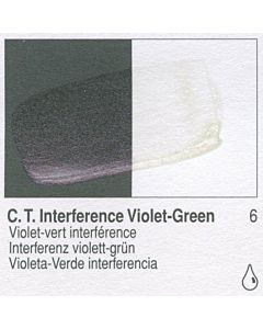 Golden Fluid Acrylic 4oz Bottle - CT Interference Violet-Green