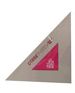 "Professional Triangle 45°/90° - 10"""