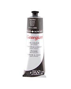 Georgian Oil Color - 225ml Tube - Lamp Black