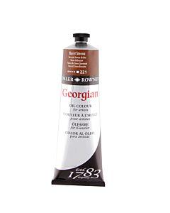 Georgian Oil Color - 225ml Tube - Burnt Sienna