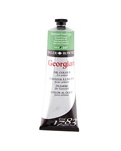 Georgian Oil Color - 225ml Tube - Perm Green Light