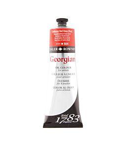 Georgian Oil Color - 225ml Tube - Cadmium Red Deep Hue