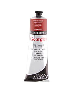 Georgian Oil Color - 225ml Tube - Alizarin Crimson