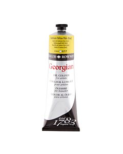 Georgian Oil Color - 225ml Tube - Cadmium Yellow Pale
