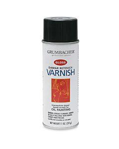 Grumbacher Artist Spray Damar Retouch Varnish 11oz Can