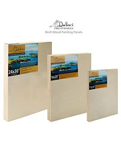 DaVinci Pro Birch Painting Panel - 5x7x7/8""