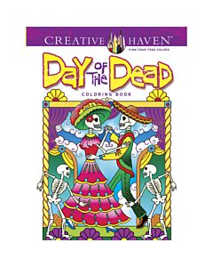 Creative Haven Day of the Dead Adult Coloring Book