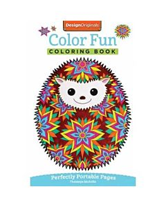 Design Originals Color Fun Adult Coloring Book