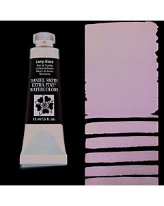 Daniel Smith Watercolors 15ml - Lamp Black