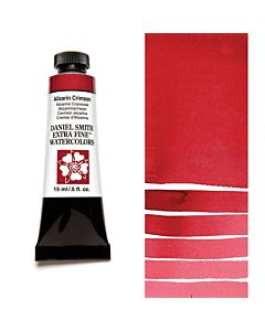 Daniel Smith Watercolors 15ml - Alizarin Crimson