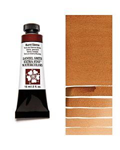 Daniel Smith Watercolors 15ml - Burnt Sienna