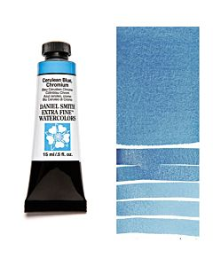 Daniel Smith Watercolors 15ml - Cerulean Blue Chromium