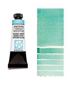 Daniel Smith Watercolors 15ml - Cobalt Teal Blue
