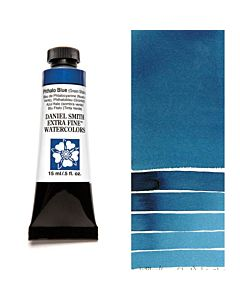 Daniel Smith Watercolors 15ml - Phthalo Blue Green Shade