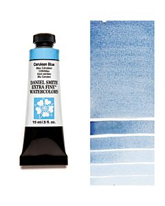 Daniel Smith Watercolors 15ml - Cerulean Blue