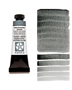 Daniel Smith Watercolors 15ml - Black Tourmaline