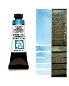 Daniel Smith Watercolors 15ml - Duochrome Cabo Blue