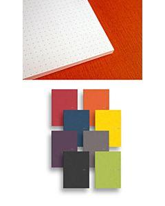 Fabriano EcoQua Dot Glued Notepad Raspberry 5.8X8.25