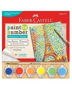 Faber-Castell Museum Series Paint By Number - Eiffel Tower