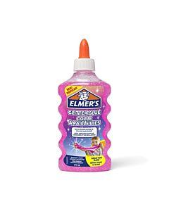 Elmers Classic Glitter Glue 6oz - Pink