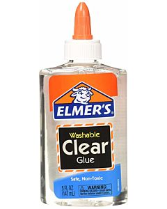 Elmer's Clear Washable School Glue 5oz