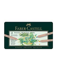 Faber-Castell Pitt Pastel Pencils - Tin of 12