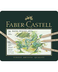 Faber-Castell Pitt Pastel Pencils - Tin of 24