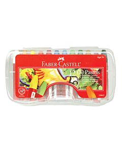 Faber-Castell Oil Pastels 12-Count Set
