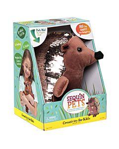 Sequin Pets - Happy the Hedgehog