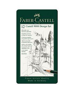 Faber-Castell 9000 Graphite Pencil Design Set