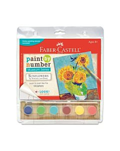 Faber-Castell Creativity For Kids Paint By Numbers Sunflowers