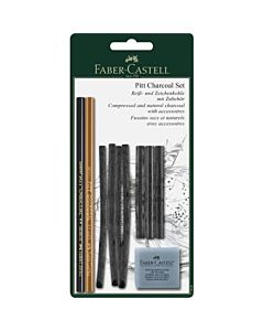 Faber-Castell Pitt Charcoal - Set of 10