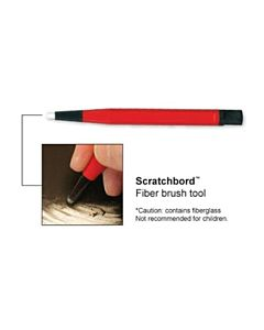 Ampersand Scratchbord Fiber Brush