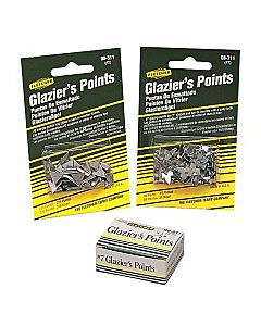 Stacked Glazier Points 3/8â€ Box of 5000 points